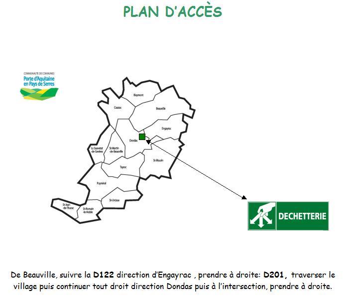 plan-d-acces-dechetterie